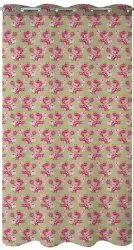 Cotton Casement Eyelet Designer Window Curtain, Size: 120x240cm