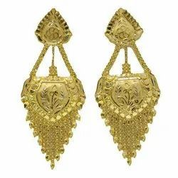 Mansi jewellers Gold Earrings