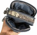 ROQ Tactical Molle Pouch Universal Outdoor Sport Utility Gadget Belt  (Grey)
