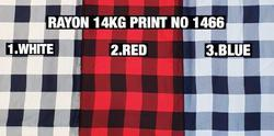 Rayon Print Fabric 14kg