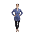 Ladies Printed Cotton Tunic Top