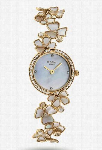 Titan Womem Raga Watch 95030ym01j At Rs 17995 Piece Titan Ladies Watch Id 19177845788