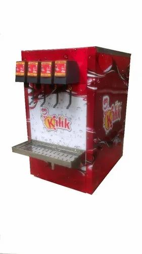 Soda Fountain Machine E-Series YVEC-4