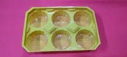 Muffins Cake Packaging Tray