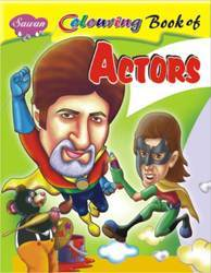 Colouring Book Of Actors Book