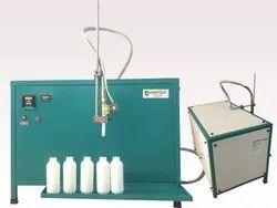 Semi Liquid Filling Machine for Lubricant Oil