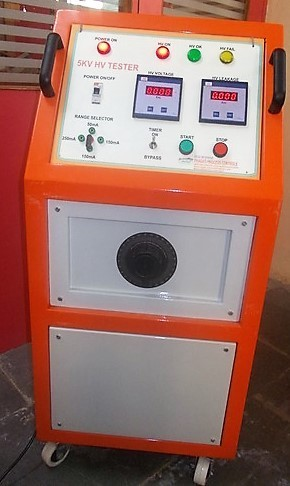 Ac High Voltage Breakdown Tester 10kv For Industrial And