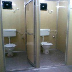 Toilet cabin