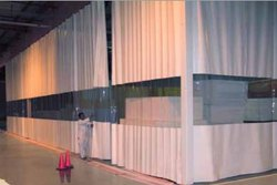 Corona Virus Barrier Curtains