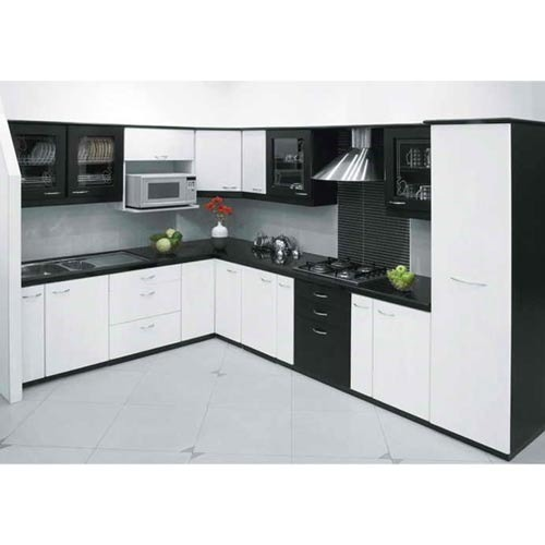 Designer Modular Kitchen At Rs 360 Square Feet: Residential Acrylic Modular Kitchen In Madhya Pradesh, Rs