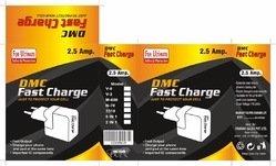 Black Travel DMC Fast Charger