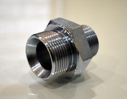 Hex Nipple Hydraulic Fitting