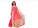 Ladies Chanderi Saree