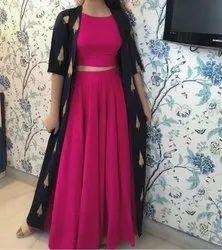 Cotton Ladies Stitched Designer Salwar Suit
