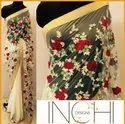 Fancy Designer Saree With Blouse Piece