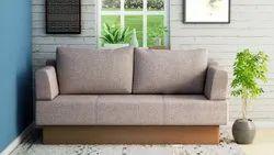 Godrej Interio Brown 3 Seater Sofa Cum Bed, For Home, Size: Contemporary
