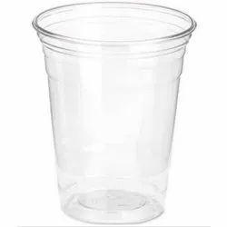 Plain Plastic Disposable Transparent Glass, Size: 300 Ml