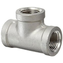 Threaded BSPT Stainless Steel 304 Tee