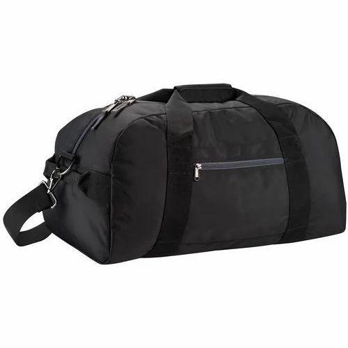 d676904659df Black Plain Duffle Bag Set