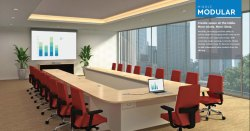 Godrej Modular Office Conference Table