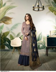 Silk Embroiderd Work Suits