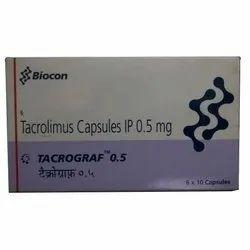 Tacrolimus Capsules IP 0.5 mg