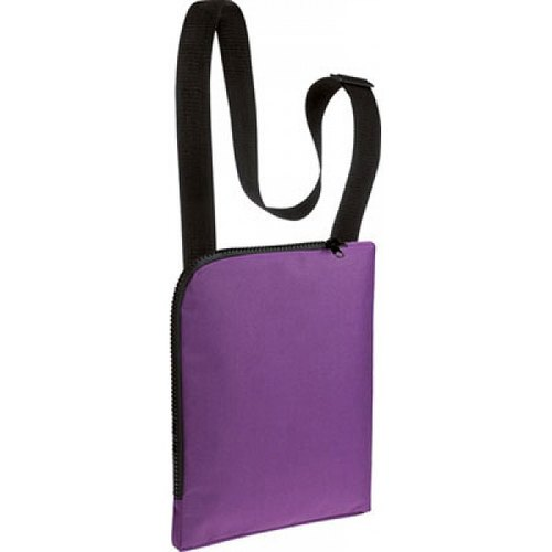 Zipper Non Woven Sling Bag, Size: 6*10
