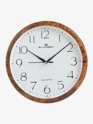 Ivry, Silver & Brown 1005 Antique Wall Clock, Size: 280*280mm