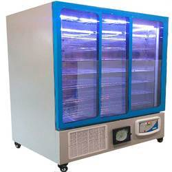 Blue Three Glass Door Refrigerator, Capacity (in Liters): 500 L, 3