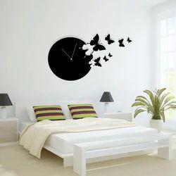 Analog Acrylic Round Wall Clock
