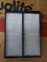 Aluminium Frame Car Cabin Air Filter