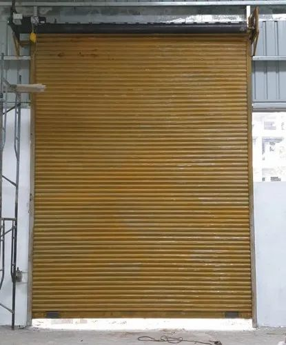 Full Height Single Phase Remote Rolling Shutter