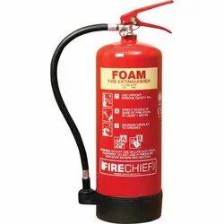 Foam Type Fire Extinguishers, Capacity: 4Kg