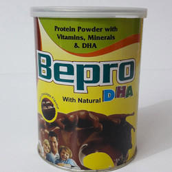 Chocolate Bepro Protein Powder, Packaging Type: Tin