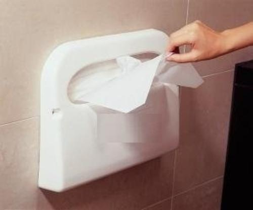 Hygiene Star White Toilet Seat Cover Dispenser Rs 600