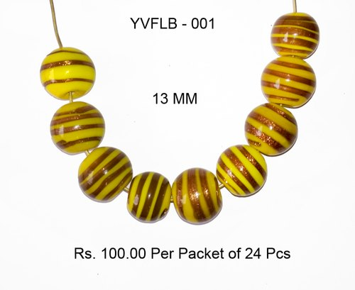Lampwork Fancy Glass Beads- YVFLB-001