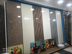 Kajaria Glossy Double Charged Flooring Tiles, Thickness: 10-15 mm
