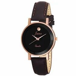 Jainx Copper Analog Watch for Women & Girls JW620
