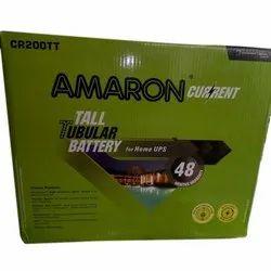 Amaron Tall Tubular UPS Battery, Packaging Type: Box, Model No: Cr200tt