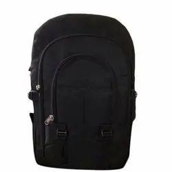 Black Plain Executive Laptop Backpack