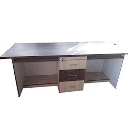 Long Office Table With Drawer