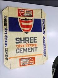 PP Woven Block Bottom Bag, Storage Capacity: 20kg to 50kg, Packaging Type: Bulk Packaging