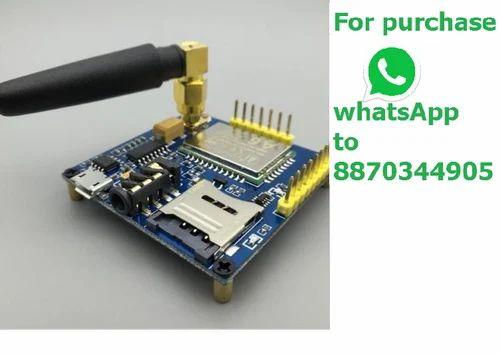 Sim900a Gprs A6 Module Gsm Modem Module & Sma Antenna Call