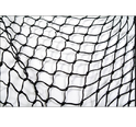 Black Nylon, Hdpe Plastic Net, Shape: Square