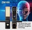 Essl Silver And Bronze Zm100 Smart Door Lock