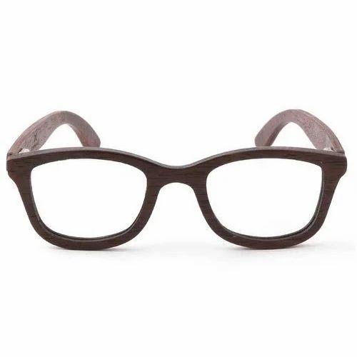 1ed0052fa67f Walnut Wooden Eyeframe, Designer Spectacle Frame, Eyeglass Frames ...