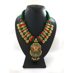 Designer Meenakari Kolhapuri Necklace