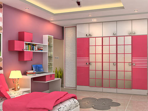 Girls Bedroom Interior Designing In Kolkata Kustia By Designer S Choice Id 14266718155