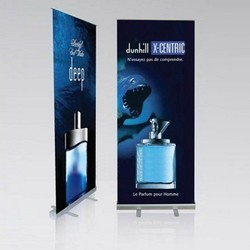 Aluminium Roll-Up Banner Stands