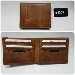 Genuine Leather RFID Wallet For men's